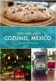Best Restaurants, Cozumel Mexico TravelBreak.net More