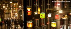 On November 1st, the opening of the #light project #Sassenstraat Allicht took place in #Zwolle, the #Netherlands. This autumn/ winter the 'Sassenstraat' (name of the street) is illuminated with over 300 lights. Business owners, residents, property owners, City Centre Zwolle, volunteers and more have worked in recent weeks to make this lights show possible. http://www.horecatrends.com/en/leisure/lichtspektakel-in-zwolle