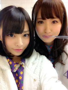 乃木坂46 (nogizaka46) Ito Nene (伊藤寧々) Eto Misa (衛藤美彩)