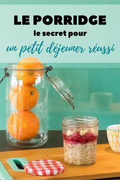 Le porridge, le secret d'un petit déjeuner réussi - Avril sur un fil Brunch, Cantaloupe, Avril, Veggies, Nutrition, Fruit, Breakfast, Recipes, Food