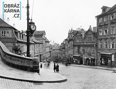 Nerudova ulice /okolo roku 1900/