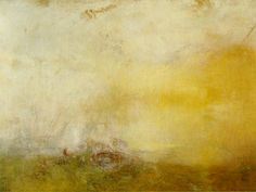 J.M.W. Turner, Sunrise with Sea Monsters