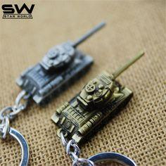 STARWORLD 3 Farben World of Tanks schlüsselanhänger Metall Schlüssel ringe Für Geschenk Simulierte Tanks Keychain Schmuck Spiel Schlüsselhalter Souvenir