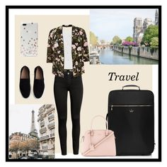 """""""Travel in Style"""" by alkiiiii on Polyvore featuring Kate Spade, Natalie B and Chloé"""