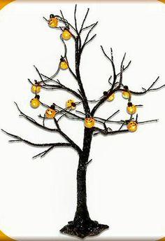 Dept 56 Lighted Jack-O-Lantern Tree #53270