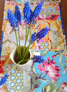 Table runner by Stephie @ Narrative Self