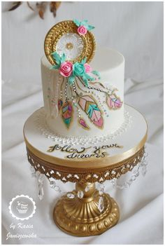 THE 1 Collaboration-Planet Cakes - Kuchen Pretty Cakes, Cute Cakes, Beautiful Cakes, Amazing Cakes, Fancy Cakes, Mini Cakes, Fondant Cakes, Cupcake Cakes, Dream Catcher Cake