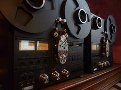 Magnétophone Tape Recoder Technics Duo - www.remix-numerisation.fr - Numérisation de bande magnétique audio - Restauration Audio