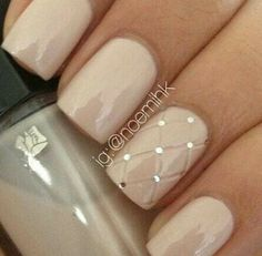 Simple and classy nails
