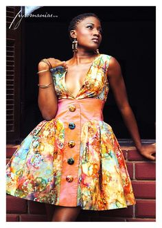 "Image of ""Iris"" dress African Print Dresses, African Print Fashion, African Dress, Fashion Prints, Ankara Dress, Ankara Fashion, African Prints, Fashion Design, African Attire"