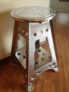 Aviation stool by Retro Aero