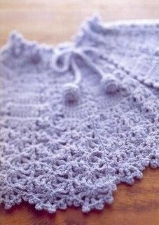 Sunbonnet Blue Cape free crochet graph pattern, got patterns for booties, hats, dresses, vests as well