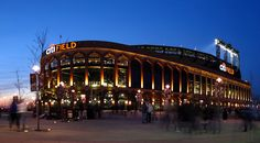 Citi Field, home of the Mets.  New York, New York.