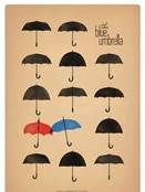 The Blue Umbrella, Pixar short at the beginning of Monster's University. Brilliant. Completely totally beautiful and brilliant.