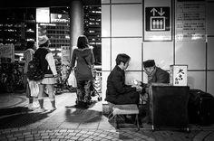 Fortune Teller in Shinjuku
