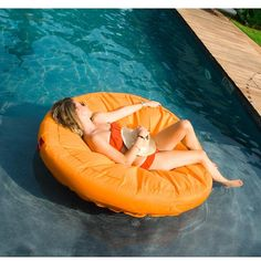 The perfect pool lounger.