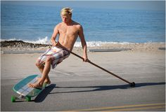 HAMBOARDS – combines Skateboarding & Surfing - I want to learn...if I can't live in a surfing area I might as well learn something fun on cement.