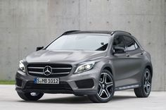 The GLA-Class: MBZ's new compact crossover due for the US in 2015.