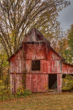 Brighton, Tennessee is home to this once long ago brilliantly crimson, but now time weathered barn.