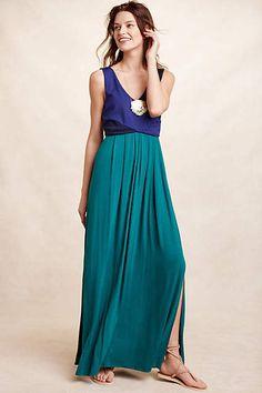 Date night dress - Elysian Maxi Dress - anthropologie.com