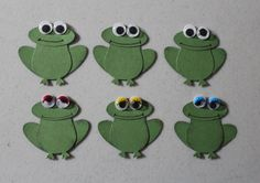 Stampin' Up Frog Punches Set of 6 | eBay
