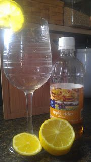 SHOTS FOR BREAKFAST!! Okay...Apple Cider Vinegar Shots-Find out why!