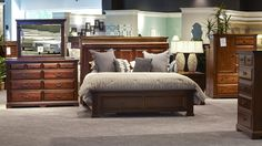 It's a great time of year to revamp your bedroom and a beautiful brand new solid wood, American made bedroom set from Gallery Furniture will do the job flawlessly! Make an investment you and your future can count on at Gallery Furniture! #GFGP | Houston TX | Gallery Furniture |