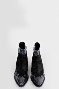 BOTTINES ABBY, noir,