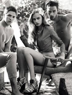 Cara Delevingne for Vogue Brazil November 2012 by J.R. Duran