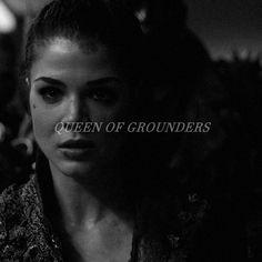 """sashapeiters: """"""""like you said, i'm a grounder. """" """""""