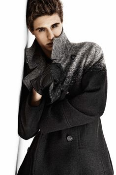 max irons | Max Irons for INC Fall/Winter 2012/2013 Campaign