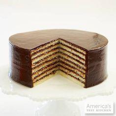 Smith Island Cake, from Smith Island, Maryland.