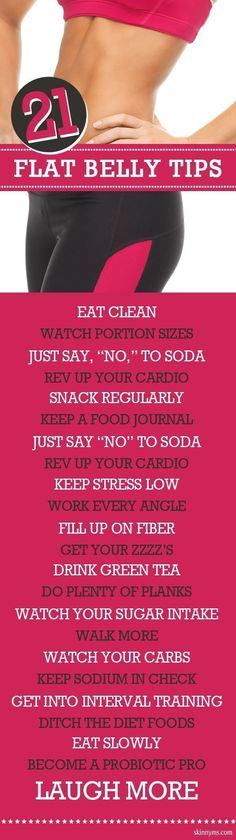 Getting a flat belly is way more than just doing crunches!  #flatbelly #tips