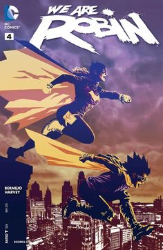 "We Are Robin #4, By Lee Bermejo, James Harvey, Diana Egea, Alex Jaffe, Jared K. Fletcher  ""You've got about two minutes to put this bonfire out before I cuff you to ...,  #5starreviews #5-Stars #AlexJaffe #All-Comic #Batgirl #batman #Comics #Dan #DanLeicht #DCComics #DCComicsReviews #deeliopunk #DianaEgea #fivestars #JamesHarvey #JaredK.Fletcher #LEEBERMEJO #Leicht #Robin #WeAreRobin #wearerobin#4"