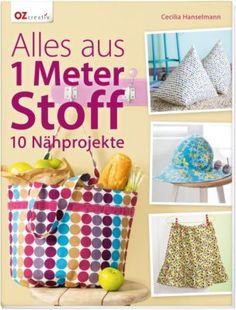 """Buch """"Alles aus 1 Meter Stoff"""" € 9,99"""