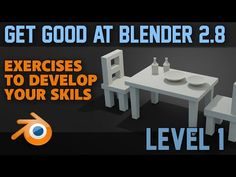 Easy and simple beginner exercises to help you understand the different ways of modelling shapes in blender and any other modelling programme. These exerc. Blender 3d, Blender Models, 3d Modeling Programs, Modeling Tips, Cinema 4d Tutorial, 3d Tutorial, Web Design, Game Design, 3d Figures