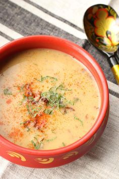 soupe slave pommes de terre champignons