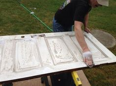 how to make a headboard out of a door | How to Make a Headboard From an Old 5-Panel Door - Snapguide