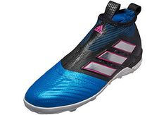 info for ee264 d2916 adidas ACE Tango 17 Purecontrol TF – Black Blue. Soccer ShoesSoccer ...