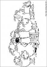 Shaun The Sheep Coloring Pages On Book