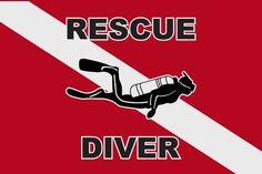 Lifeguard Decal Sticker Safety Swim Diving Rescue Window Laptop Bumper