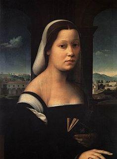 Donna velata, 1510, Ridolfo Ghirlandaio