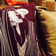 House of Cali by Cyra Ali draws inspiration from the best of art from the world over and translates them into beautiful hand embroidered pillows. Beautiful Hands, Cali, Cushions, Throw Pillows, Drawings, House, Inspiration, Biblical Inspiration, Home