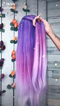 hair hairtutorial braid hairbraiding fyp for purple purplehair beauty beautyguru Easy Hairstyles For Long Hair, Braided Hairstyles Tutorials, Braids For Long Hair, Box Braids, Short Hair, Girl Hairstyles, Braids Tutorial Easy, Medium Hair Styles, Long Hair Styles