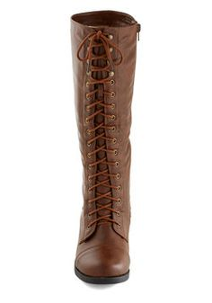 Melodic Moment Boot in Brown, #ModCloth