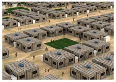 refugee camp architecture - Cerca con Google