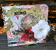 """Msliberty Creations: Mixed Media """"love"""" canvases; Nov 2013"""
