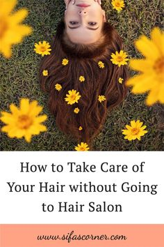 Our hair plays a big role in our overall mood and wellness. Doing your own hair care routine at home can be a form of therapy and perhaps even make life easier to bear. Here are some recommendations from the top stylists on what you can do to take care of your hair without going to hair salon. #haircare #hairtips #healthyhair #sifascorner