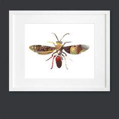 Wasp Silhouette now featured on Fab. - I should mimic this...