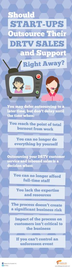 Outsourcing them is an excellent option. However, why outsource your DRTV inbound sales and direct response customer service to a third-party when you can support them in-house?